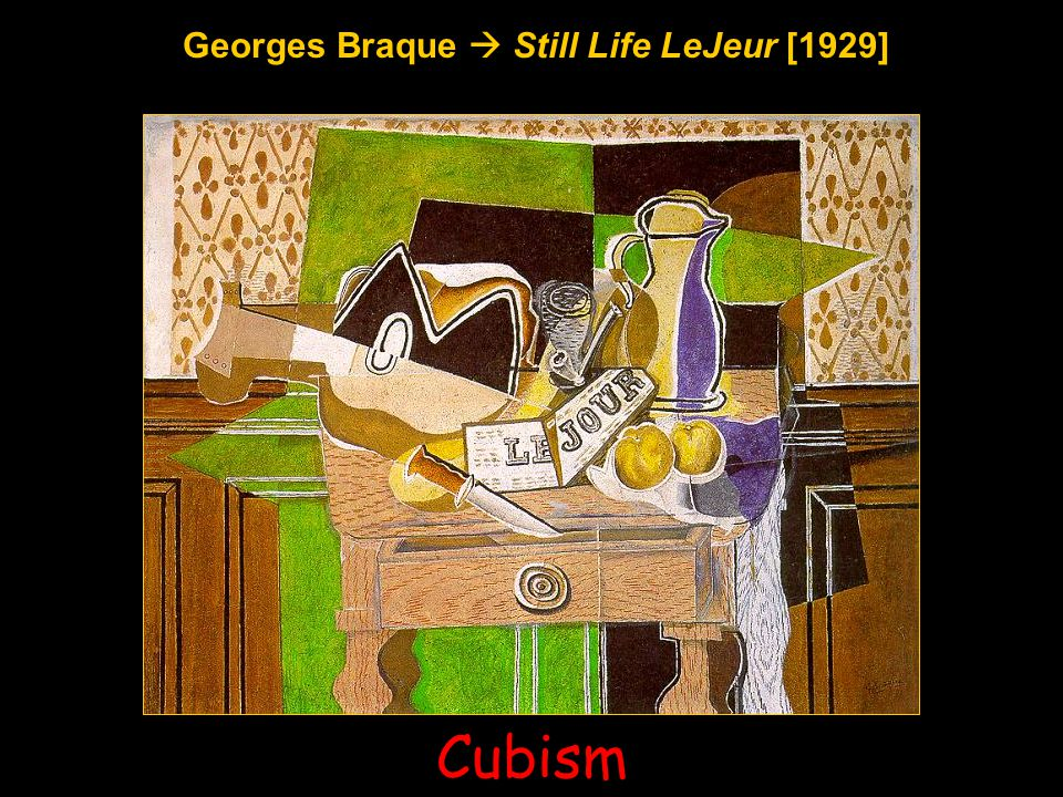 Georges Braque  Still Life LeJeur [1929]